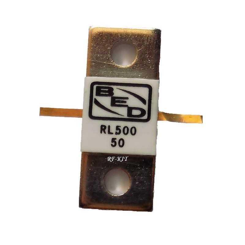 RF Resistor 50 Ohm 500W