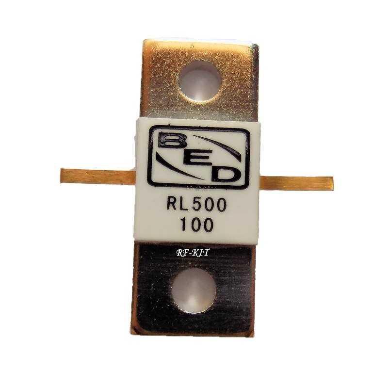 RF Resistor 100 Ohm 500 Watt