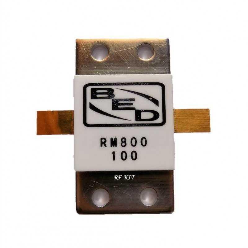 Resistor RF 100 Ohm 800 Watt