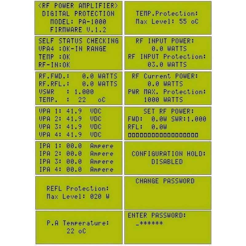 Digital RF Power Meter SWR Protektor