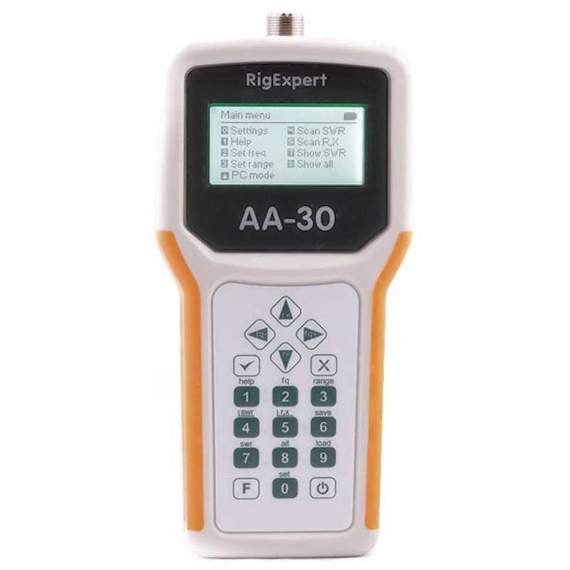 RigExpert AA-30 Antenna Analyzer
