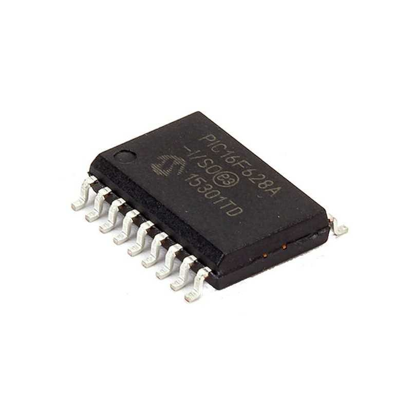 Pre-programmed PIC16F628A-I/SO (Dixipro Stereocoder)